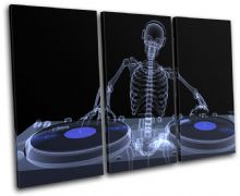 Skeleton DJ Club - 13-0760(00B)-TR32-LO